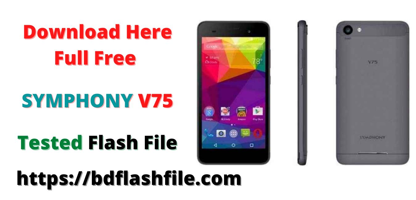 Symphony v75 flash file